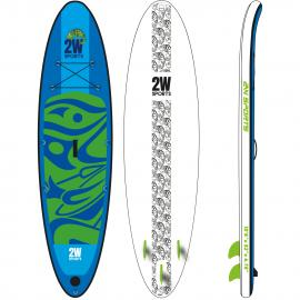 Paddleboard 2W SUP 2019 Allround 10´6