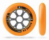 Kolečka K2 110mm 85A pro in-line brusle 4ks oranžová + doprava zdarma