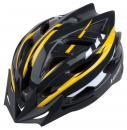 Cyklistická přilba PRO-T Cordoba M (55-58 cm) černo-žluto-bílá