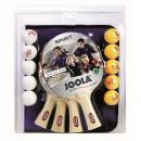 Pingpongový set Joola Family - 4 pálky, 10 míčků